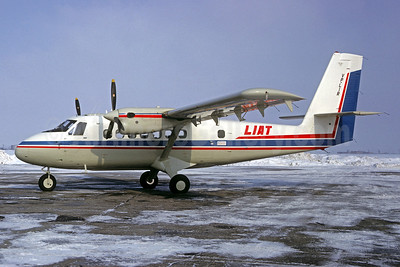 LIAT de Havilland Canada DHC-6-100 V2-LIR (msn 25) (Jacques Guillem Collection). Image: 931371.