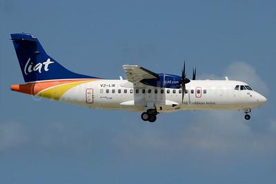 LIAT-The Caribbean Airline ATR 42-600 V2-LIK (msn 1012) SXM (Jay Selman). Image: 403506.