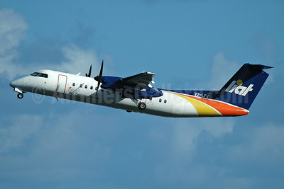LIAT-The Caribbean Airline Bombardier DHC-8-311 Dash 8 V2-LFV (msn 283) SLU (Nik French). Image: 912535.