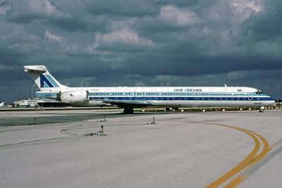 Air Aruba McDonnell Douglas MD-90-30 P4-MDF (msn 53578) MIA (Bruce Drum). Image: 103186.