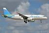 Aruba Airlines Airbus A320-232 P4-AAC (msn 573) MIA (Jay Selman). Image: 402708.
