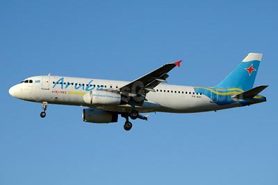 Aruba Airlines Airbus A320-232 P4-AAC (msn 573) JFK (Jay Selman). Image: 403144.