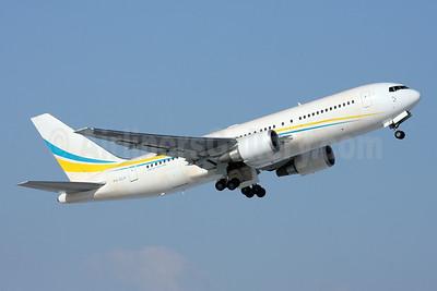 Comlux Aviation (Aruba) Boeing 767-2DX ER P4-CLA (msn 32954) ZRH (Andi Hiltl). Image: 920304.