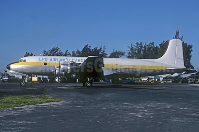 ILPO Airlines Cargo Douglas DC-6B (F) N37570 (msn 44894) MIA (Bruce Drum). Image: 104968.
