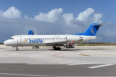 InselAir Aruba Fokker F.28 Mk. 0070 P4-FKC (msn 11583) CUR (Ton Jochems). Image: 931448.
