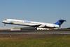 InselAir Aruba McDonnell Douglas DC-9-82 (MD-82) PJ-MDD (msn 49972) CLT (Bruce Drum). Image: 104198.