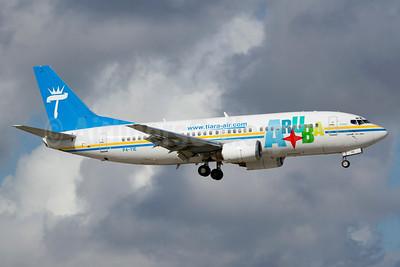 Tiara Air Aruba Boeing 737-322 P4-TIE (msn 24249) FLL (Luimer Cordero). Image: 910735.