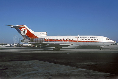 Cayman Airways-Club Air Boeing 727-46 EI-BUP (msn 18877) (Dan-Air London colors) MIA (Christian Volpati Collection). Image: 939131.
