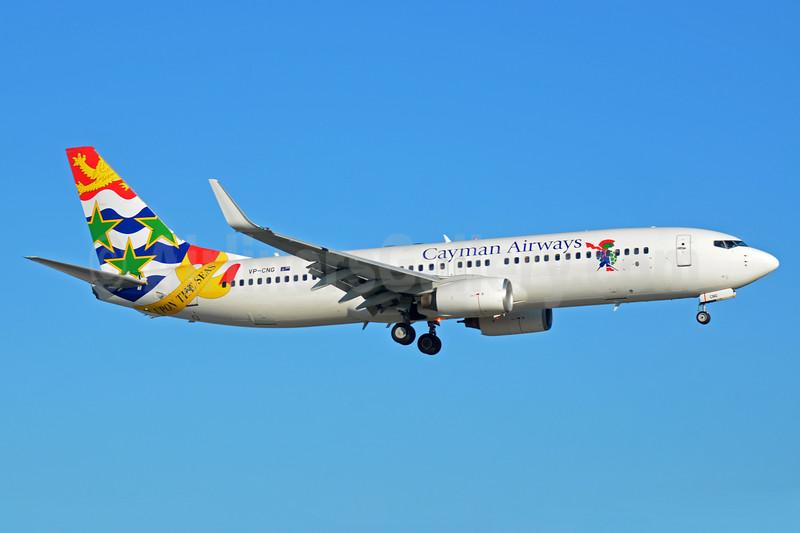 Cayman's first Boeing 737-800, delivered on November 24, 2016