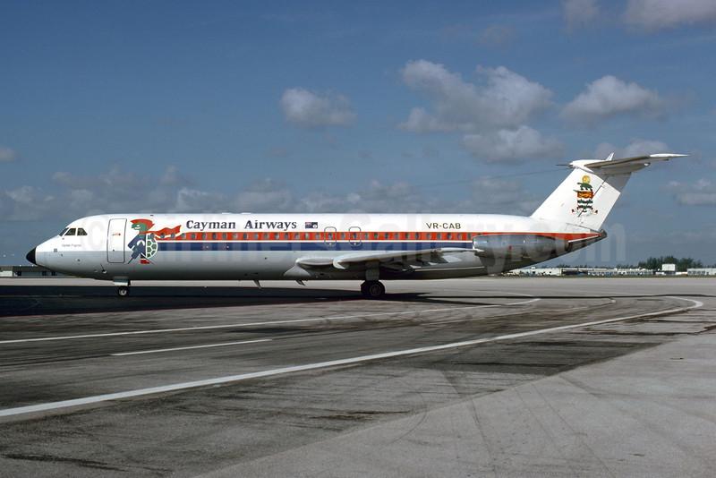 "Airline Color Scheme - Introduced 1978 - ""Cayman Progress"""