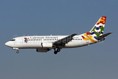 Cayman Airways Boeing 737-3Q8 VP-CAY (msn 26286) MIA (Brian McDonough). Image: 908296.