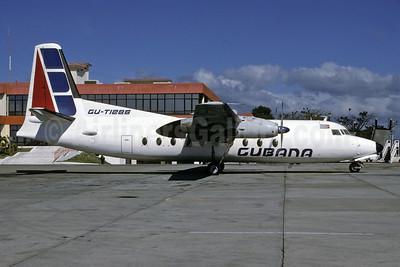 Cubana de Avacion Fokker F.27 Mk. 600 CU-T1286 (msn 10332) HAV (Richard Vandervord). Image: 909087.