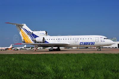 Cubana de Avacion Yakovlev Yak-42D CU-T1705 (msn 4520422014576) (Donbassaero colors) AMS (Ton Jochems). Image: 902737.