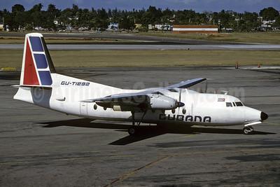 Cubana de Avacion Fokker F.27 Mk. 600 CU-T1292 (msn 10421) HAV (Richard Vandervord). Image: 909088.