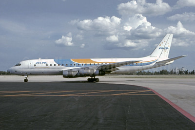 """Saba"", leased from KLM on October 6, 1978"