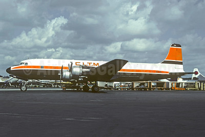 CLTM (Caraibische Lucht Transport Maatschappij) (Bellomy-Lawson Aviation) Douglas DC-6B (F) N93BL (msn 44109) (Challenge Air Transport colors) MIA (Bruce Drum). Image: 103217.
