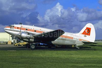 Caraibische Lucht Transport Maatschappij (CLTM) Curtiss C-46A-60-CK Commando PJ-CLE (msn 369) MIA (Bruce Drum). Image: 105617.