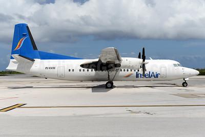 InselAir Fokker F.27 Mk. 050 PJ-KVM (msn 20288) CUR (Ton Jochems). Image: 937098.
