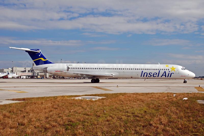Insel Air International McDonnell Douglas DC-9-82 (MD-82) PJ-MDC (msn 49434) MIA (Bruce Drum). Image: 101817.