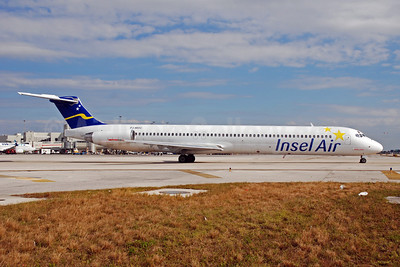 Insel Air International McDonnell Douglas DC-9-82 (MD-82) PJ-MDC (msn 49434) MIA (Bruce Drum). Image: 101817.