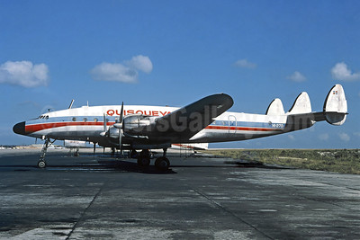 Delivered on July 4, 1976, operated the world's last 049 revenue. flight on January 19, 1978 San Juan - Santo Domingo
