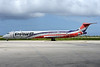 PAWA Dominicana McDonnell Douglas DC-9-82 (MD-82) HI914 (msn 49476) CUR (Ton Jochems). Image: 937097.