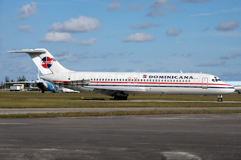 PAWA Dominicana McDonnell Douglas DC-9-31 N919RW (msn 47162) OPF (Arnd Wolf). Image: 930132.