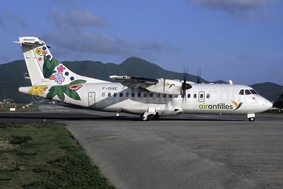 Air Antilles ATR 42-500 F-OIXE (msn 807) SXM (Jacques Guillem Collection). Image: 955175.