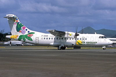 Air Antilles Express ATR 42-500 F-OIXD (msn 695) (Jacques Guillem Collection). Image: 936202.
