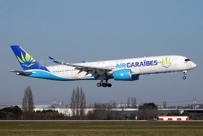 Air Caraibes (2nd) Airbus A350-941 F-HHAV (msn 082) ORY (Antony J. Best). Image: 941153.