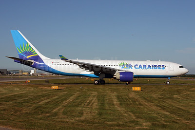 Air Caraibes (2nd) Airbus A330-223 F-OFDF (msn 253) LGW (Terry Wade). Image: 926408.