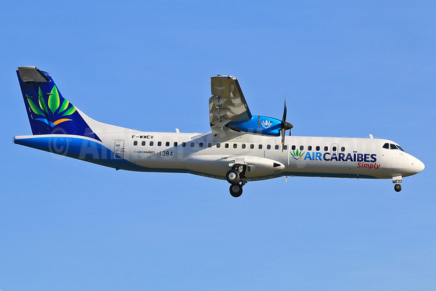 Air Caraïbes' first ATR 72-600