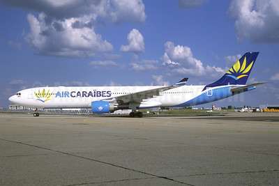 Air Caraibes (2nd) Airbus A330-323 F-OONE (msn 965) ORY (Jacques Guillem). Image: 941153.