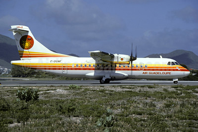 Air Guadeloupe ATR 42-300 F-OGNF (msn 58) GCE (Christian Volpati). Image: 946474.