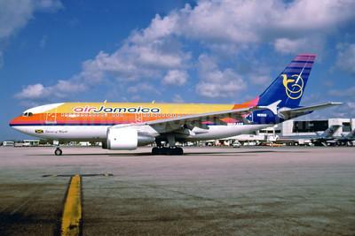 Air Jamaica Airbus A310-324 N839AD (msn 678) MIA (Bruce Drum). Image: 102899.