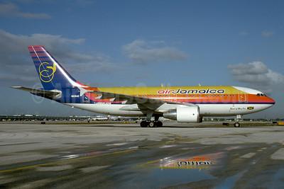 Air Jamaica Airbus A310-324 N835AB (msn 650) MIA (Bruce Drum). Image: 102898.