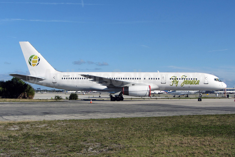 Fly Jamaica Boeing 757-23N N524AT (msn 30233) FLL (Brian McDonough). Image: 907891.