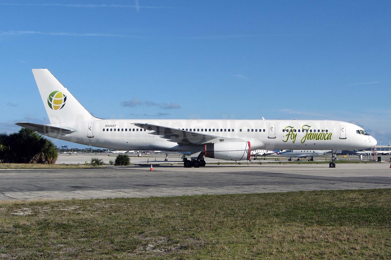 Fly Jamaica Boeing 757-23N N524AT (msn 30233) FLL (Brian McDonough). Image: 907891.