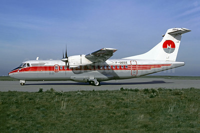 Air Martinique ATR 42-300 F-GEDZ (msn 5) (Cimber colors) ORY (Jacques Guillem). Image: 946493.
