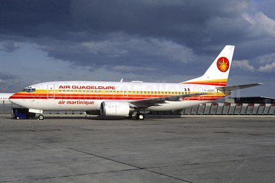 Air Guadeloupe - Air Martinique Boeing 737-33A F-OGRT (msn 25138) ORY (Jacques Guillem). Image: 947795.