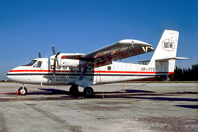 WIndward Island Airways-WIA de Havilland Canada DHC-6-100 Twin Otter HP-772 (msn 22) OPF (Christian Volpati Collection). Image: 931367.