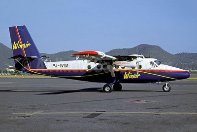 Winair (Windward Islands Airways) de Havilland Canada DHC-6-300 Twin Otter PJ-WIM (msn 840) SXM (Christian Volpati Collection). Image: 941036.