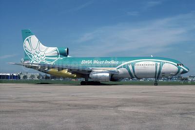 BWIA West Indies Lockheed L-1011-385-3 TriStar 500 9Y-TGN (msn 1191) LHR (SPA). Image: 932231.