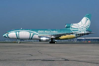 BWIA West Indies Lockheed L-1011-385-3 TriStar 500 9Y-THA (msn 1222) LHR (SPA). Image: 932232.