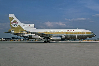BWIA International-Trinidad and Tobago Airways Lockheed L-1011-385-3 TriStar 500 9Y-TGJ (msn 1179) MIA (Bruce Drum). Image: 100538.