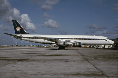 Originally delivered to Alitalia as a DC-8-43 as I-DIWR on February 1, 1962, converted to a freighter in 1978 for Airlift
