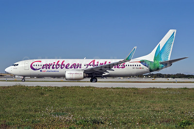 Caribbean Airlines-Air Jamaica Boeing 737-83N WL 9Y-SLU (msn 28246) FLL (Tony Storck). Image: 907444.
