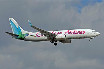 Caribbean Airlines Boeing 737-8Q8 WL 9Y-ANU (msn 28235) MIA (Bruce Drum). Image: 101199.