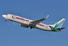 Caribbean Airlines Boeing 737-8Q8 WL 9Y-BGI (msn 28232) (50 Years of Independence) FLL (Tony Storck). Image: 910671.