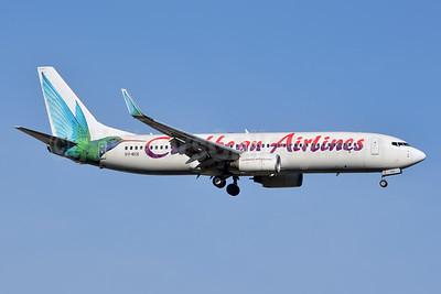 Caribbean Airlines Boeing 737-8Q8 WL 9Y-BGI (msn 28232) JFK (Jay Selman). Image: 402426.